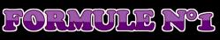 FORMULE DJ 1