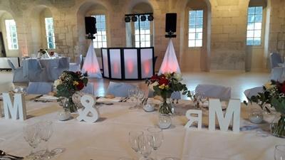 Dj mariage abbaye de moncel pontpoint oise 60