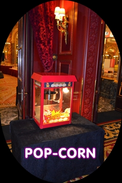location machine a pop corn